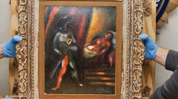 L'FBI ritrova un dipinto di Chagall rubato trent'anni fa
