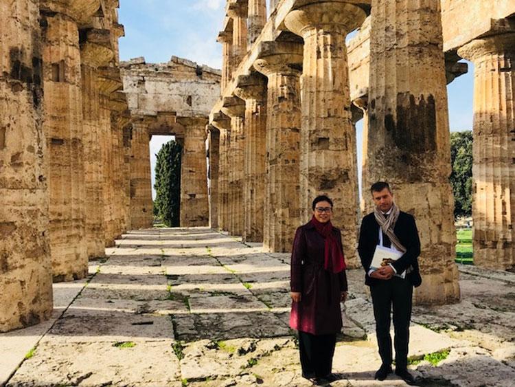 Per la prima volta verrà inaugurata una monografica in Cina interamente dedicata a Paestum