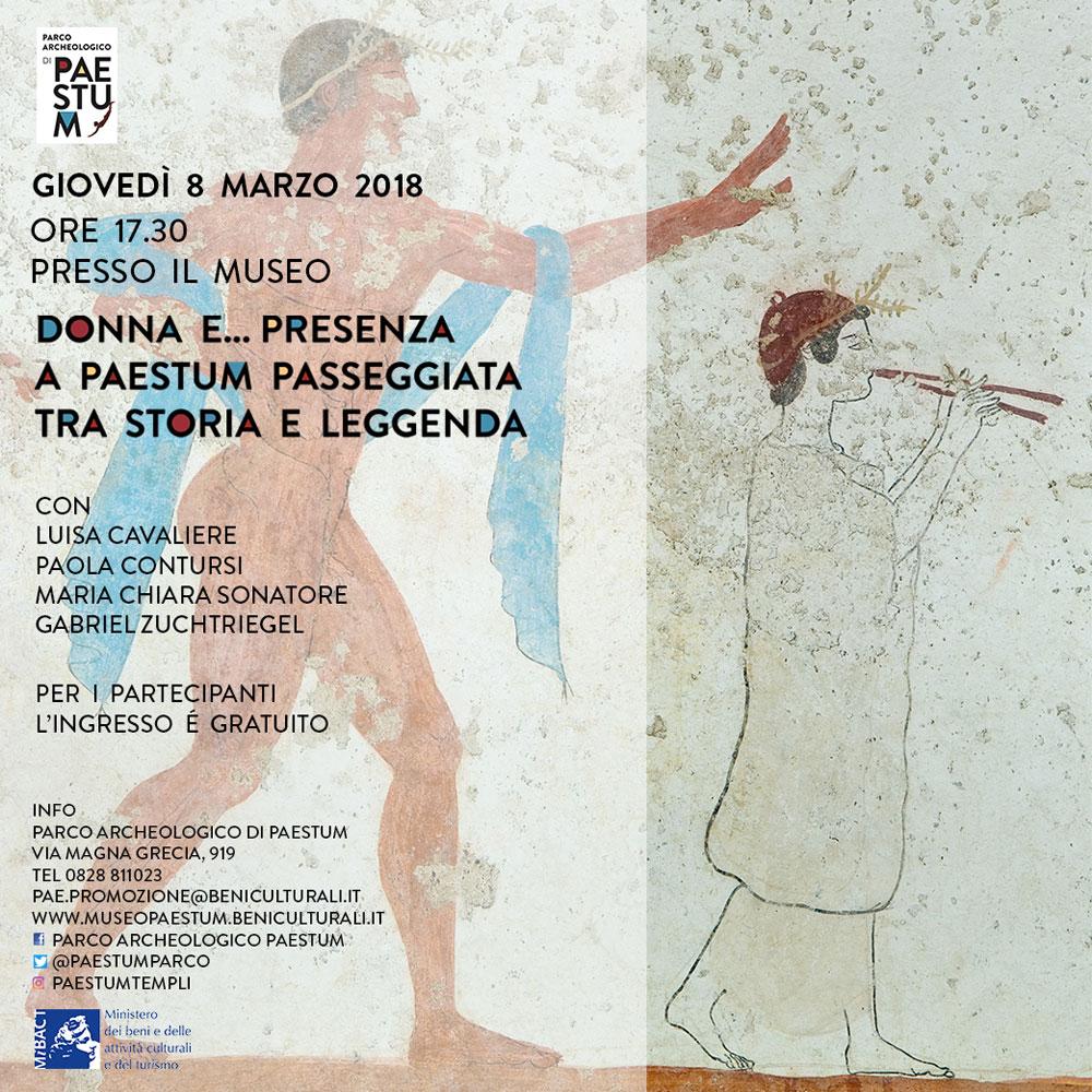 8 marzo a Paestum per una passeggiata tra storia e leggenda