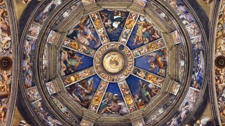Per la prima volta è possibile vedere da vicino la cupola del Pordenone a Piacenza