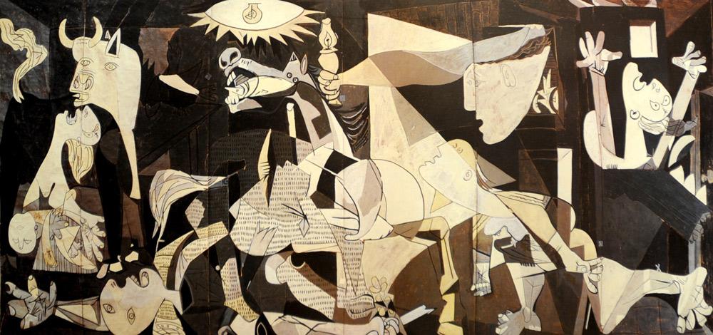 Il cartone di Guernica di Picasso è in mostra a Padova
