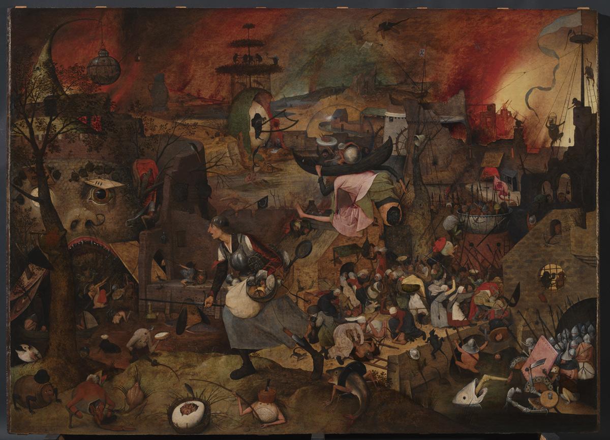 Il 2019 sarà l'anno di Pieter Bruegel. La sua Dulle Griet torna ad Anversa dopo lo straordinario restauro