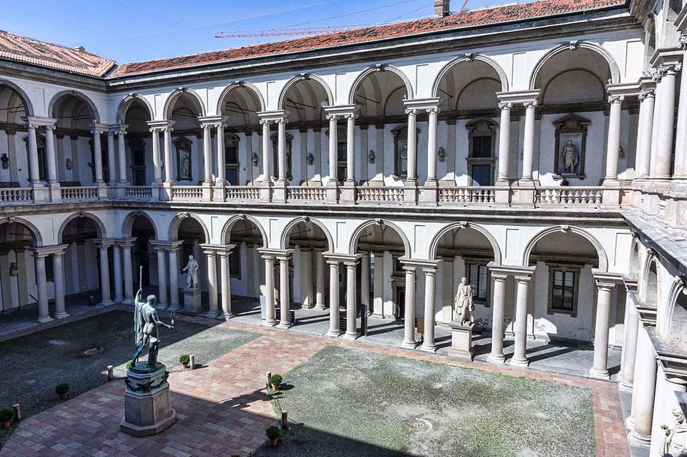 Da oggi chiudono le collezioni di arte moderna alla Pinacoteca di Brera