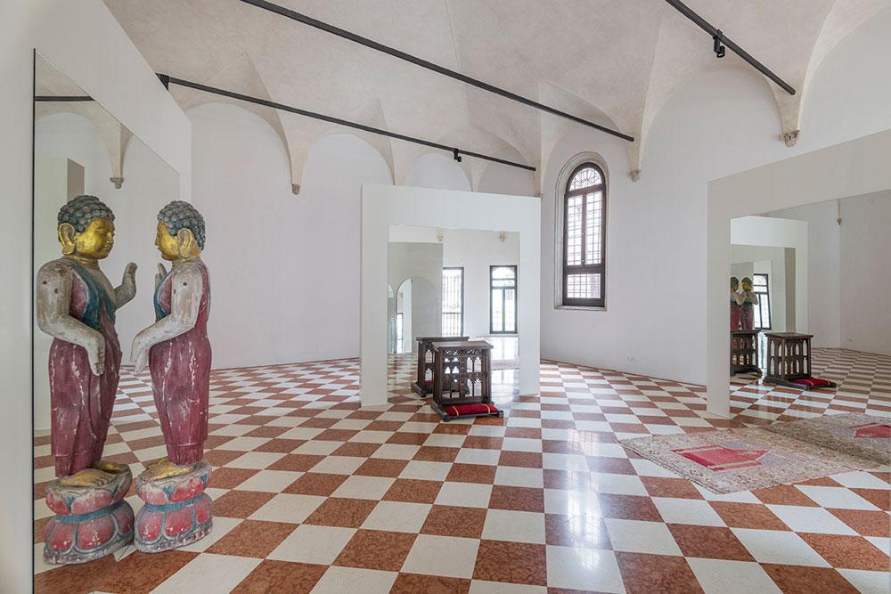 Pisa: Pistoletto presenta la sua mostra alla chiesa di Santa Maria della Spina