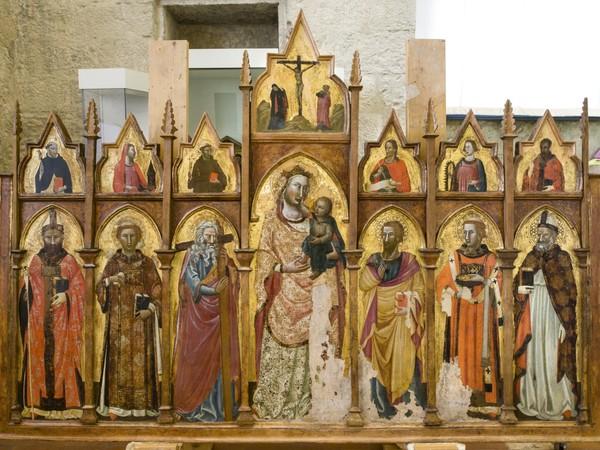 A Gubbio in mostra i tesori ritrovati, opere d'arte del tempo di Giotto tutte restaurate
