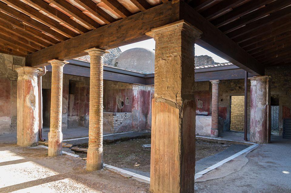 Pompei, riaprono al pubblico la Casa dei Ceii e il complesso di Giulia Felice