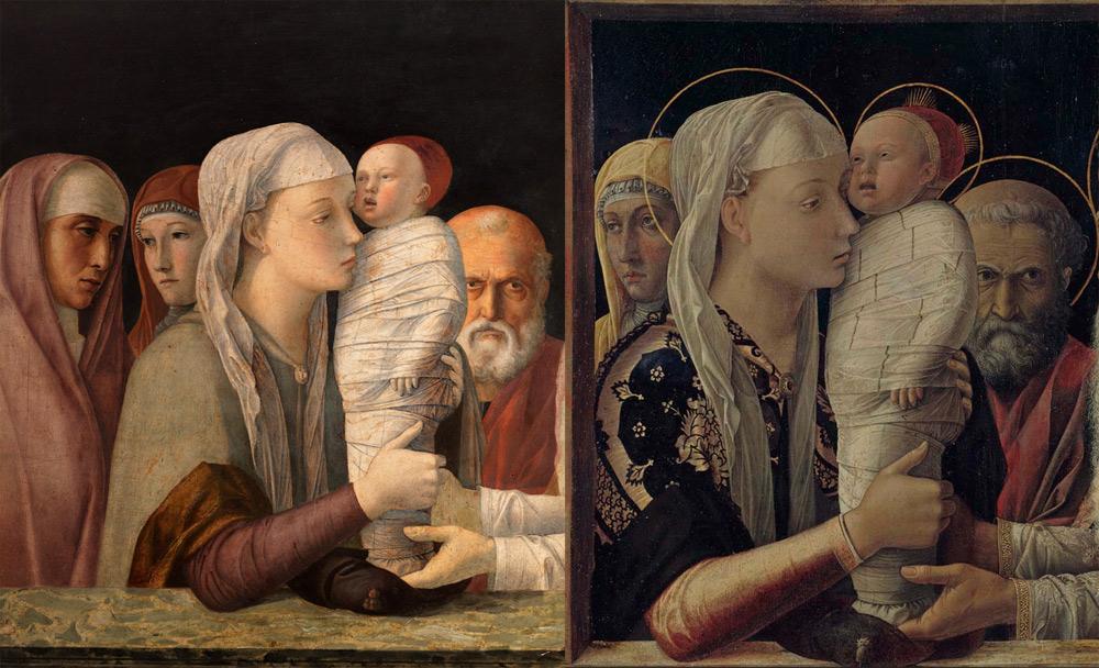 Le due Presentazioni di Mantegna e Bellini insieme a Venezia, un eccezionale confronto