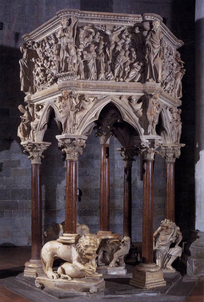 Presentato a Pistoia il progetto di studio e di restauro del pulpito di Giovanni Pisano