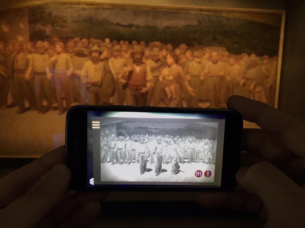 Il Quarto Stato in realtà aumentata: ecco il capolavoro di Pellizza da Volpedo come non s'era mai visto