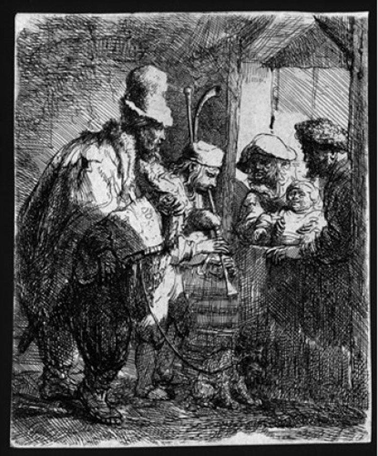 Le incisioni di Rembrandt in mostra a Bologna