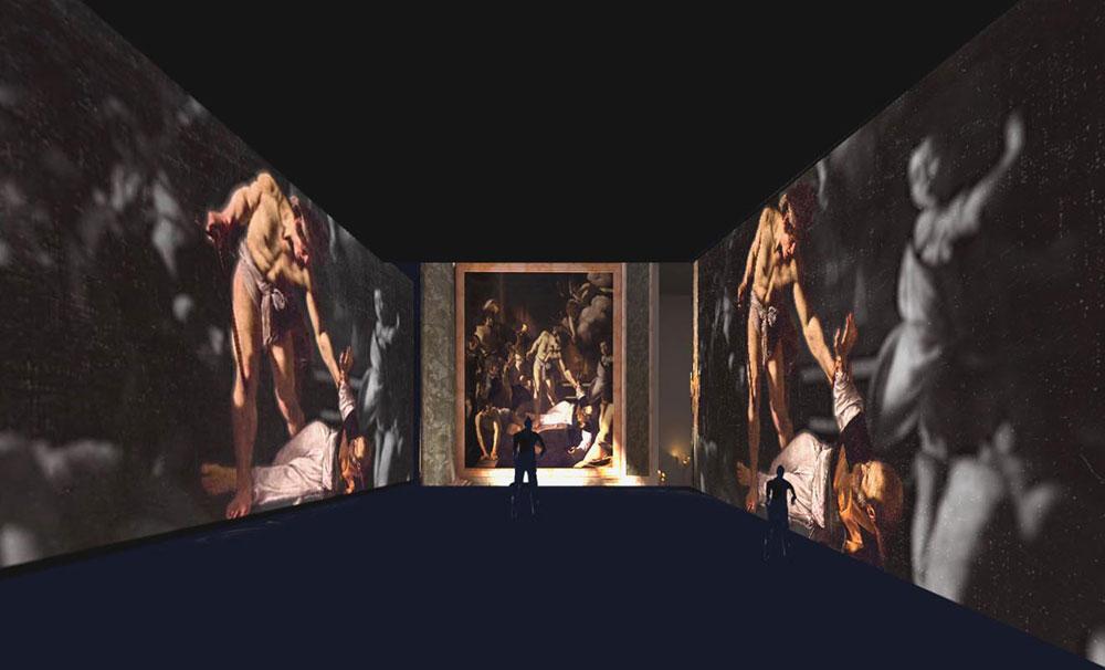 In arrivo a Milano uno spettacolo immersivo nelle opere di Caravaggio