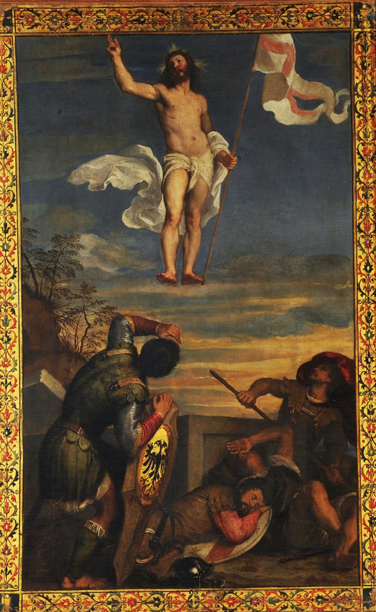 La Resurrezione di Cristo di Tiziano subirà un intervento di restauro a Roma