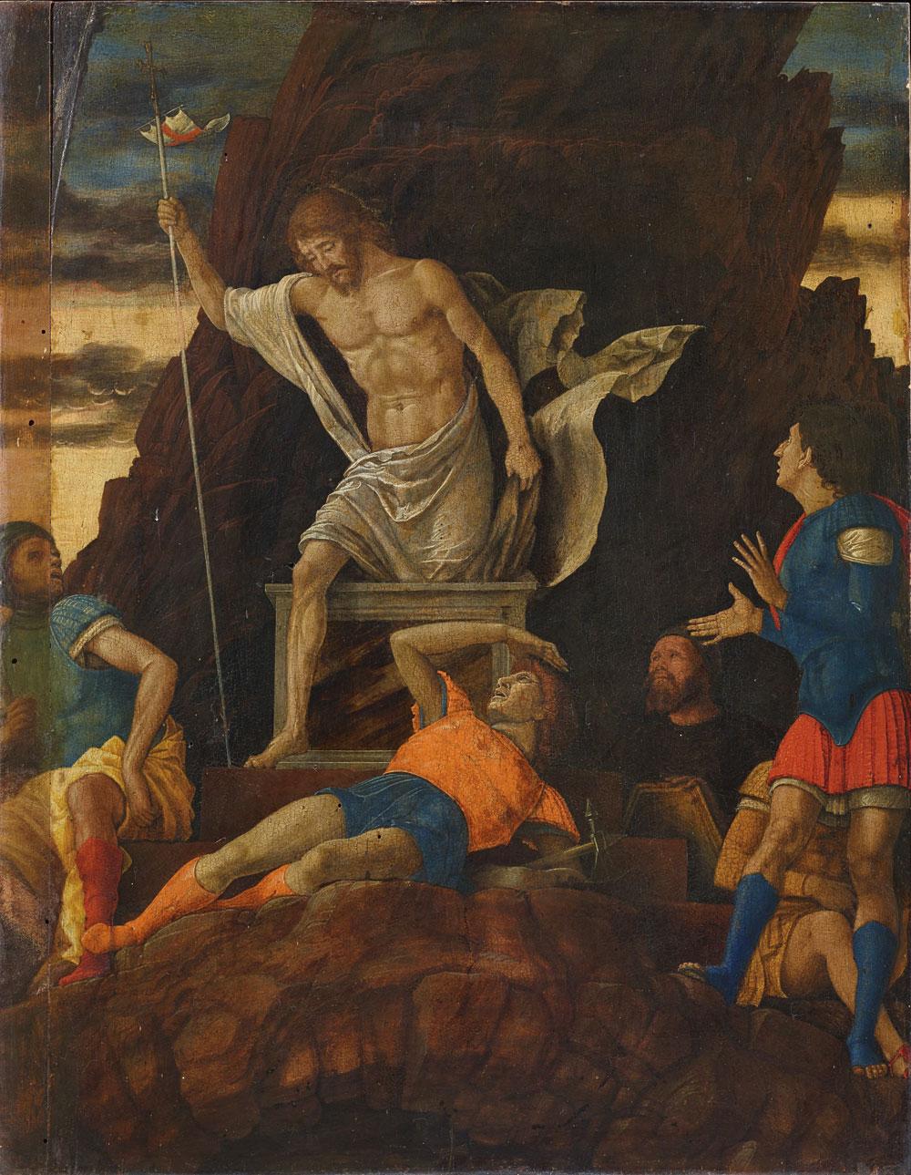 Il pubblico potrà assistere in diretta al restauro della Resurrezione attribuita a Mantegna all'Accademia Carrara