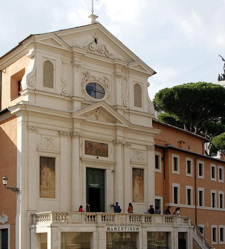 Roma, la chiesa di San Giuseppe dei Falegnami riapre temporaneamente dopo il crollo