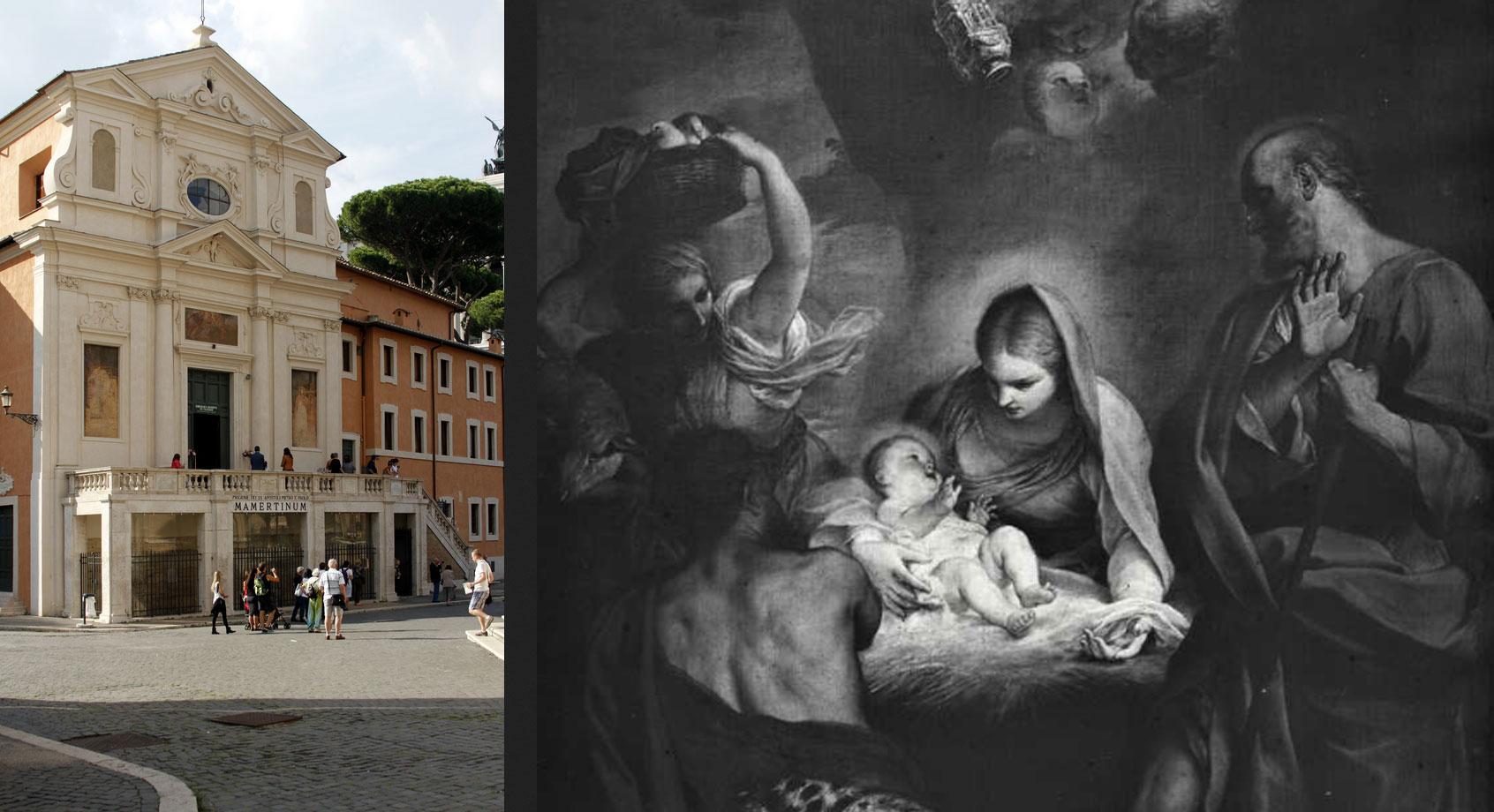 Roma, crolla il tetto di San Giuseppe dei Falegnami, la chiesa sul Carcere Mamertino che conserva importante opera di Carlo Maratta