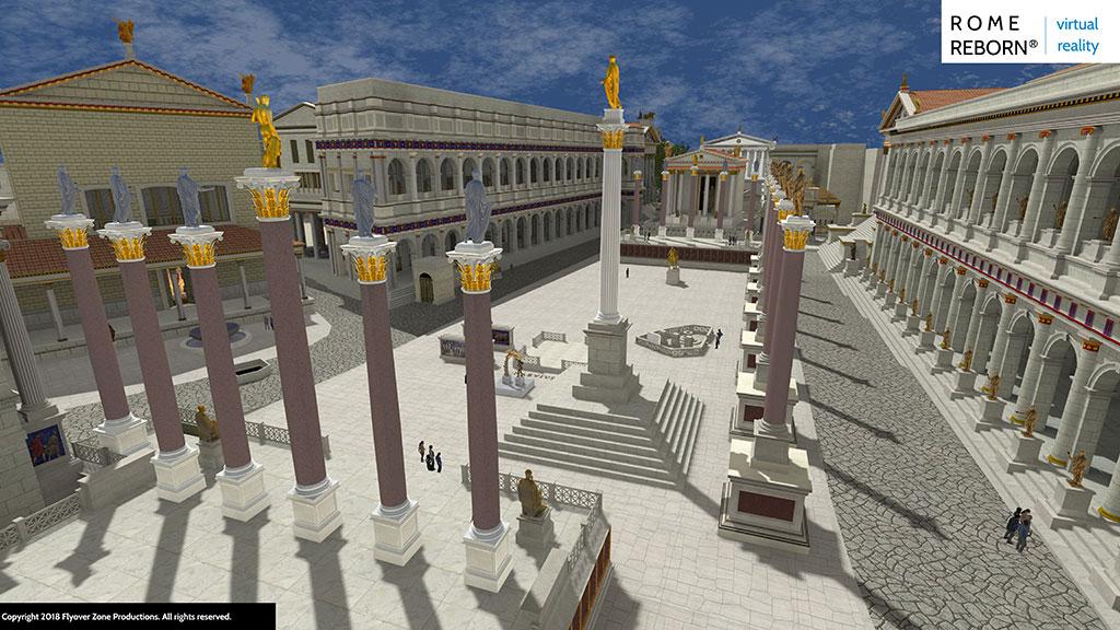 Rome Reborn, ecco l'app che permette di visitare la Roma del 320 d.C.