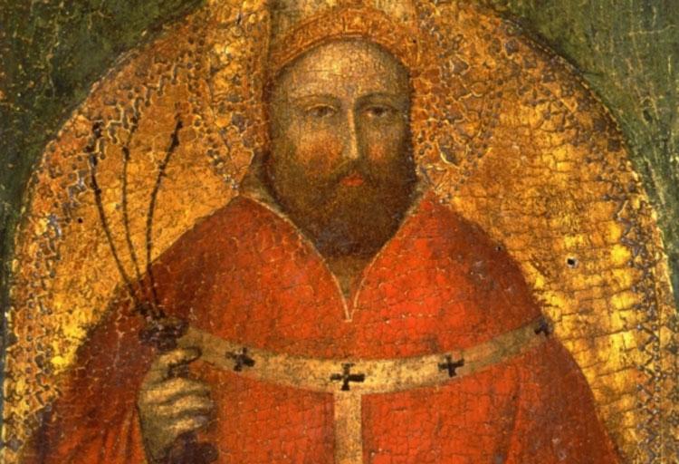 I Carabinieri recuperano il Sant'Ambrogio di Giusto de' Menabuoi rubato dalla Pinacoteca di Bologna