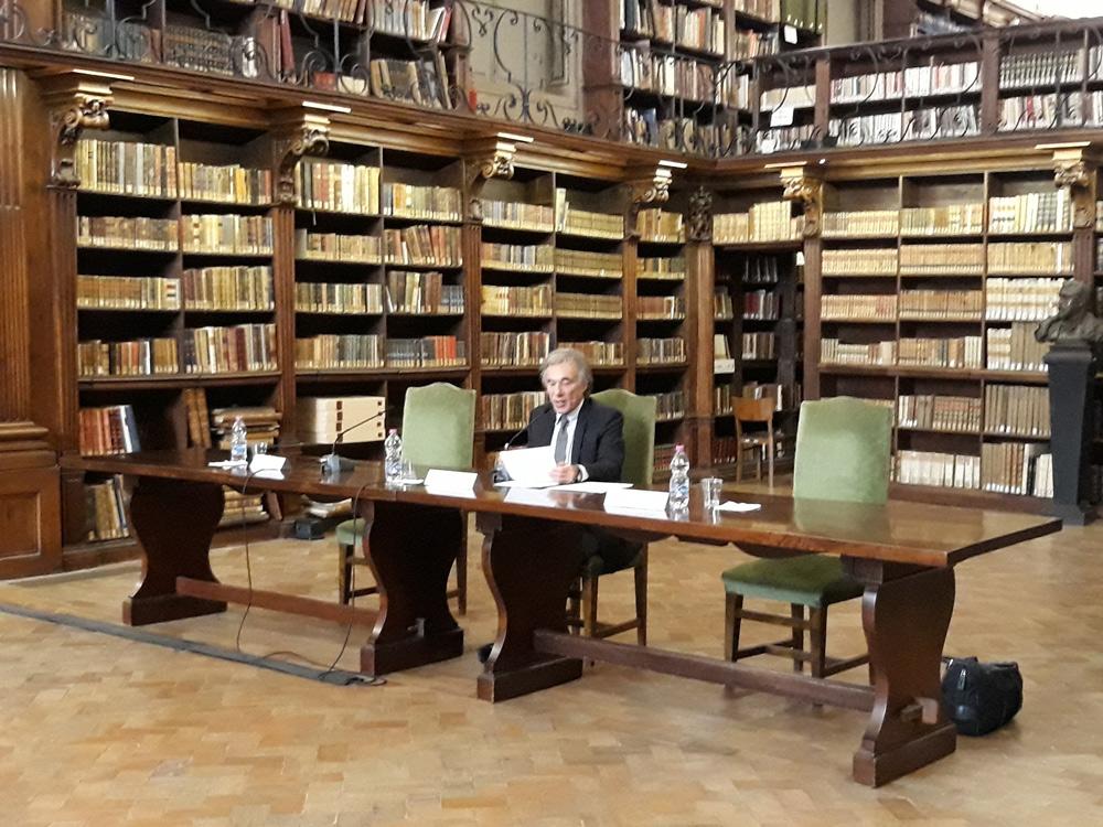 Scuola del Patrimonio, via al Ciclo Classi Aperte del Corso 2018-2020. Apertura con Michele Ainis