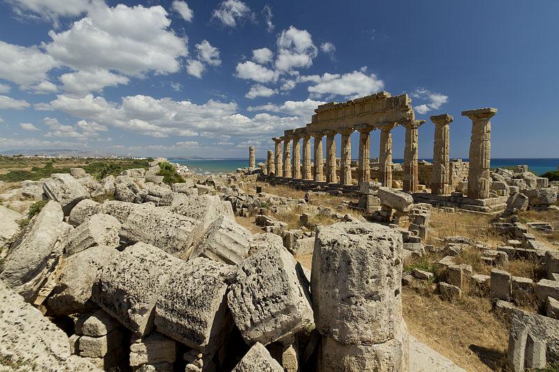 Scoperto a Selinunte un sistema idrico costruito dai greci
