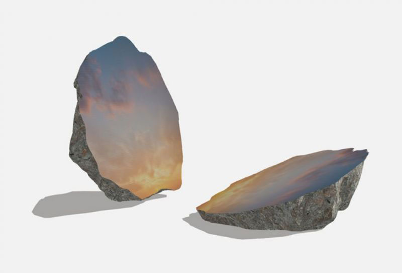 Nella Crypta Balbi esposta la Split Stone di Sarah Sze