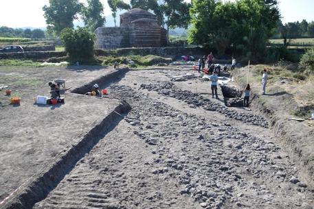 Sassari: scoperta una strada romana negli scavi di Siligo