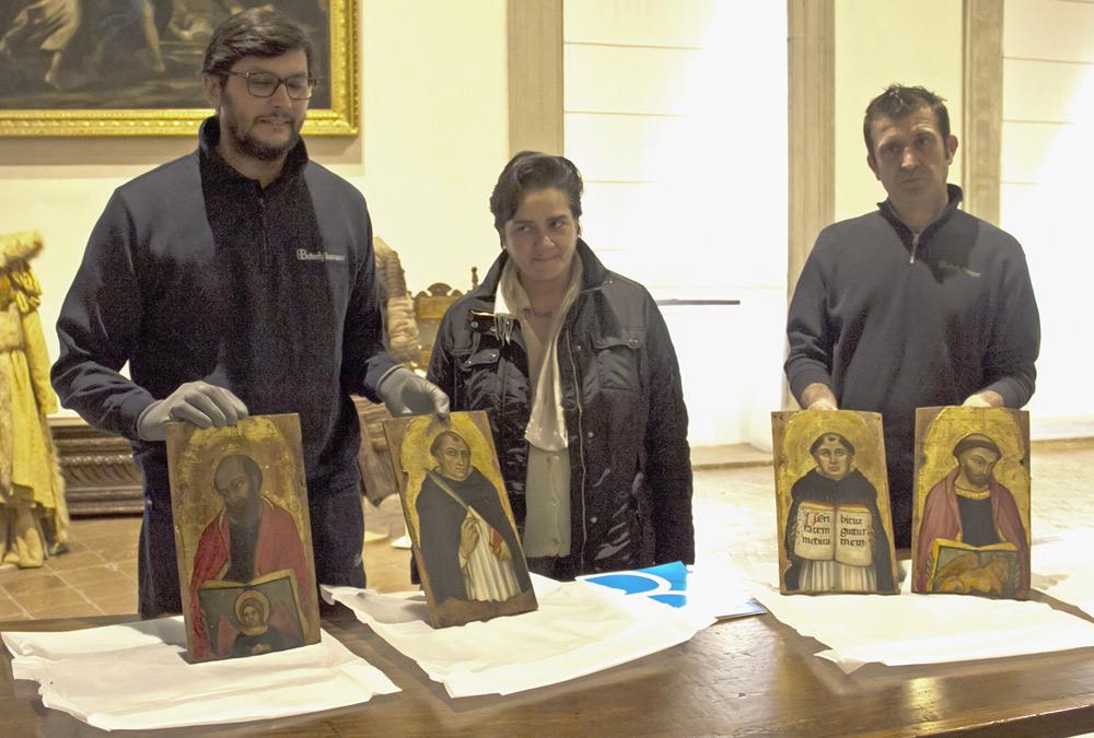 Le tavolette di Taddeo di Bartolo comprate dal MiBACT arrivano a Gubbio