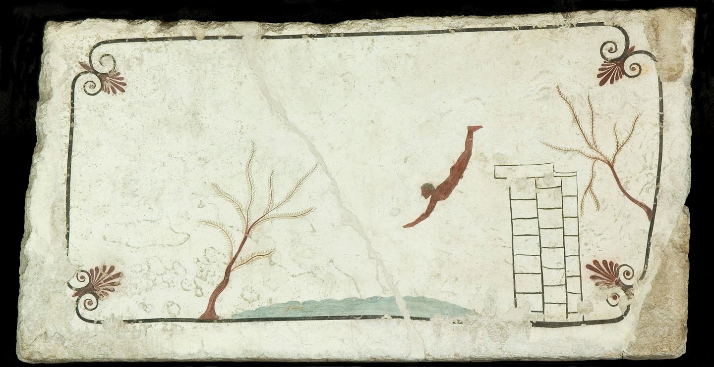 Paestum: una mostra dedicata alla Tomba del Tuffatore