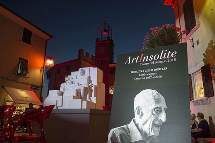 Lajatico omaggia Gillo Dorfles artista