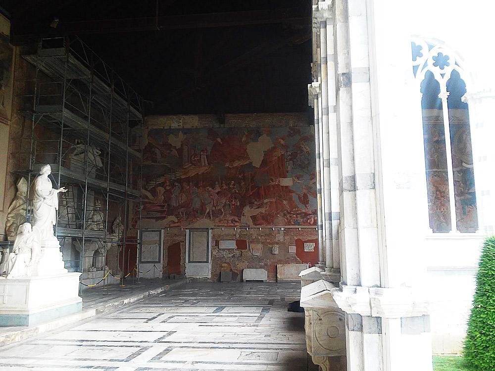 Il Trionfo della Morte di Buonamico Buffalmacco torna al Camposanto monumentale di Pisa