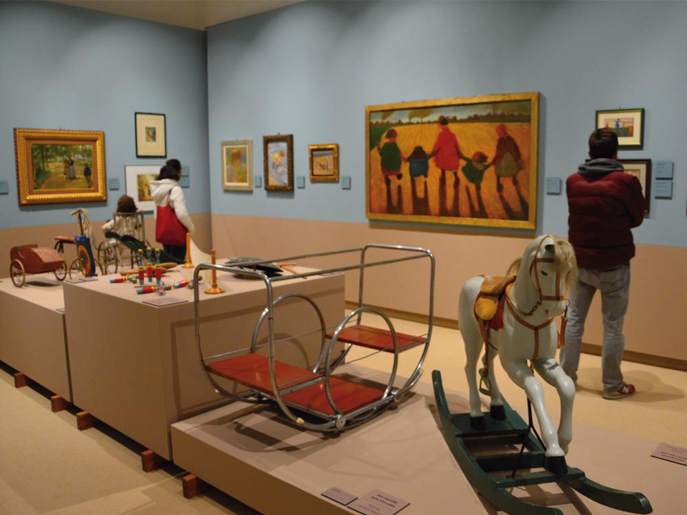 Dalla trottola al robot tra Balla, Casorati e Capogrossi: a Pontedera una mostra sui giocattoli
