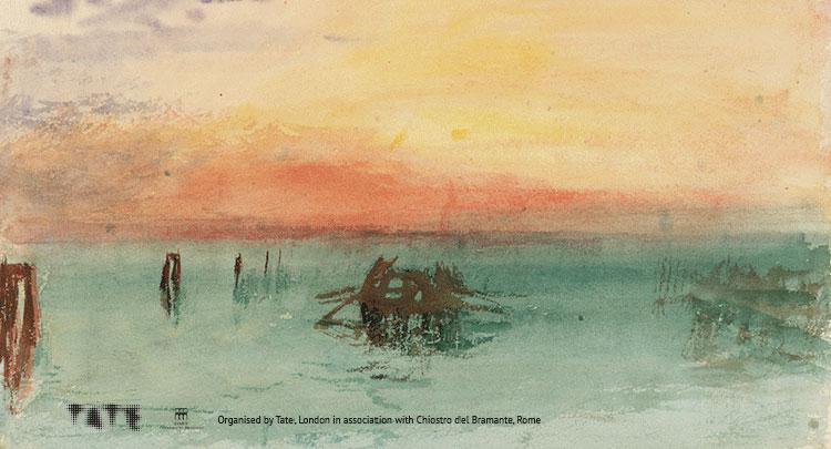 In arrivo al Chiostro del Bramante le opere di Turner dalla Tate Britain di Londra