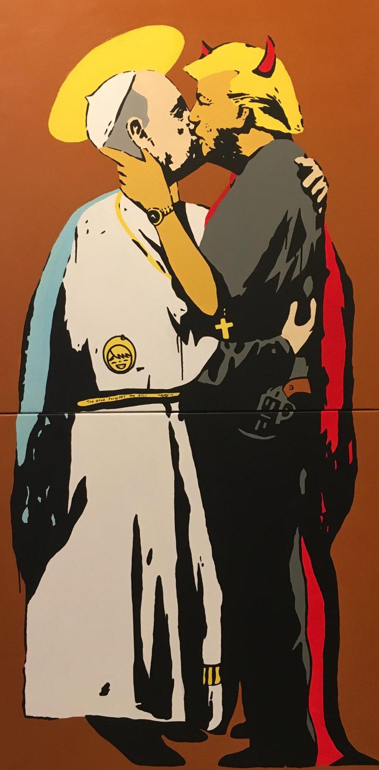 Da Andy Warhol al provocatorio Tvboy, la Pop Art è di scena ad Arte Genova