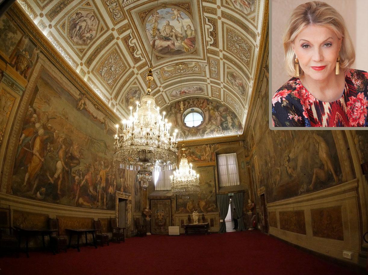 Uffizi, la mecenate Veronica Atkins dona un milione di dollari per il restauro degli affreschi di Poccetti