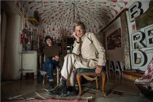 Uwe Jäntsch lascia Palermo e la Vucciria dopo 19 anni. Sarà distrutto il suo ultimo intervento