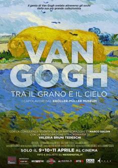 """Il van Gogh di Goldin diventa un film. Arriva nelle sale """"Van Gogh. Tra il grano e il cielo"""""""