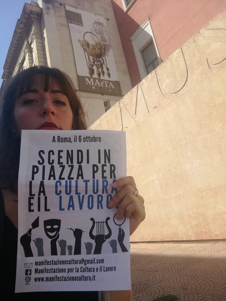 Per la domenica gratuita volantinaggio in tutta Italia per la grande manifestazione del 6 ottobre