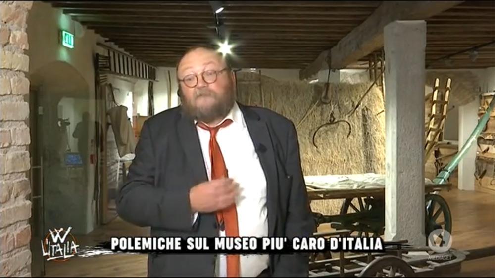 Giovanni Kezich durante la trasmissione