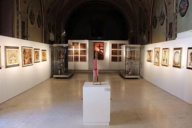 Una sala del Museo Castromediano di Lecce
