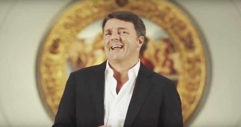 Matteo Renzi in un fotogramma del trailer di Florence