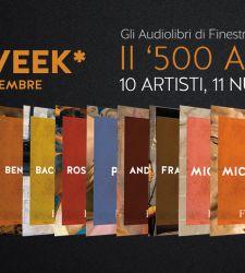 Arriva la Black Week su Finestre sull'Arte, i nostri audiolibri in offerta speciale