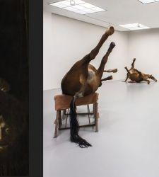 Alla Fondazione Prada in mostra il barocco secondo Luc Tuymans, con Caravaggio e Cagnacci, Cuoghi e Borremans