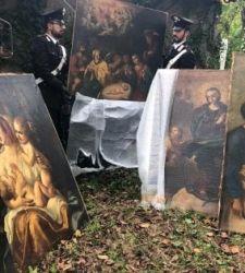 Roma, trovati in un hotel quattro dipinti del XVII secolo rubati nel 2001