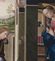 Rinascimento urbinate... dalla teoria alla pratica: l'Annunciazione di Giovanni Santi