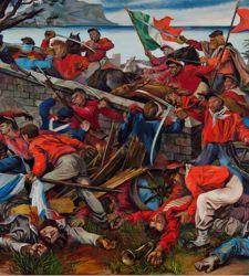 Nascita di una Nazione: opere di Guttuso, Fontana, Schifano per una mostra a Palazzo Strozzi