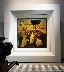Uffizi, apre la nuova sala di Leonardo da Vinci. Le foto esclusive in anteprima