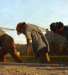 Quando Telemaco Signorini dipingeva e denunciava la fatica degli alzaioli dell'Arno