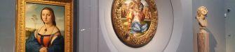 Uffizi, apre la nuova sala dedicata a Michelangelo e Raffaello. Le foto esclusive in anteprima
