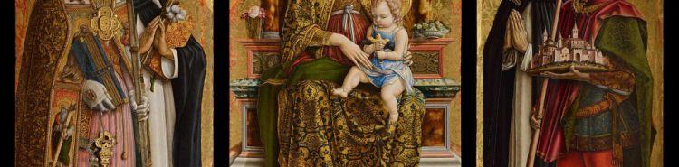 Carlo Crivelli e il suo spettacolare trittico... tridimensionale alla Pinacoteca di Brera