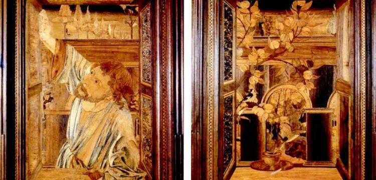 Gli intarsi di San Quirico d'Orcia che cambiarono la vita di Federico Zeri e lo resero uno storico dell'arte