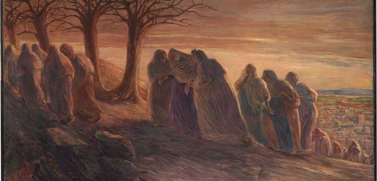 Gaetano Previati, la pittura religiosa che si fa sentimento umano: la Via al Calvario e la Via Crucis